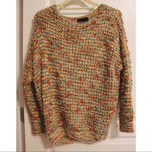 Anthropologie La Fee Verte Popcorn Mohair Sweater